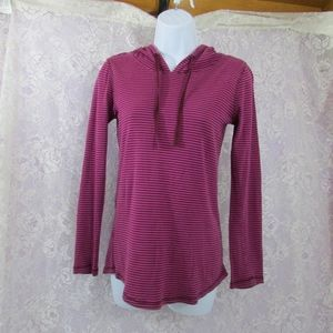 Eddie Bauer Outdoors Womens Striped Pullover XS